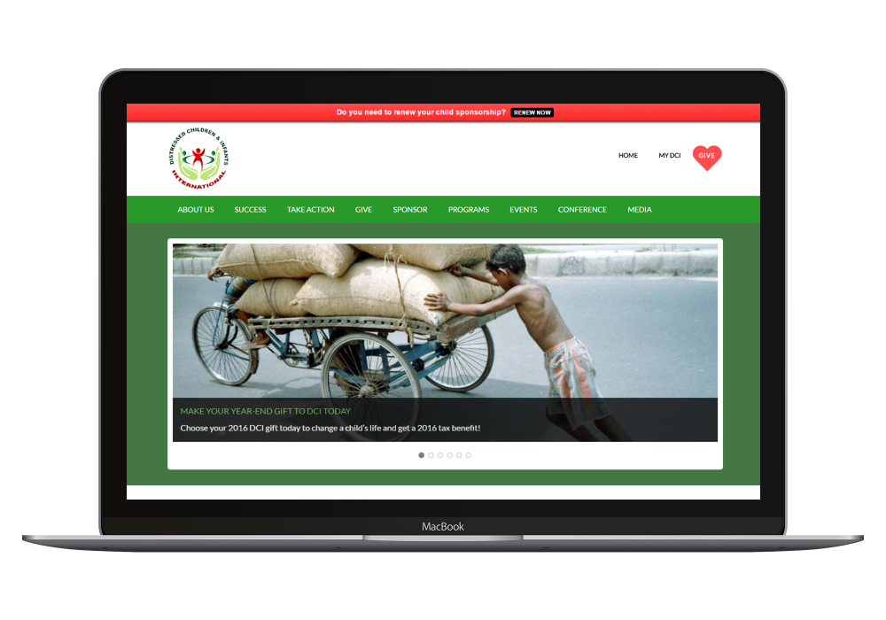 A non-profit raises hundreds of thousands of dollars and helps thousands in distress with an e-commerce enabled site